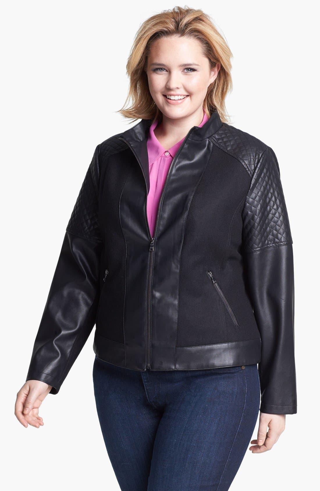 Мода для полных куртки фото