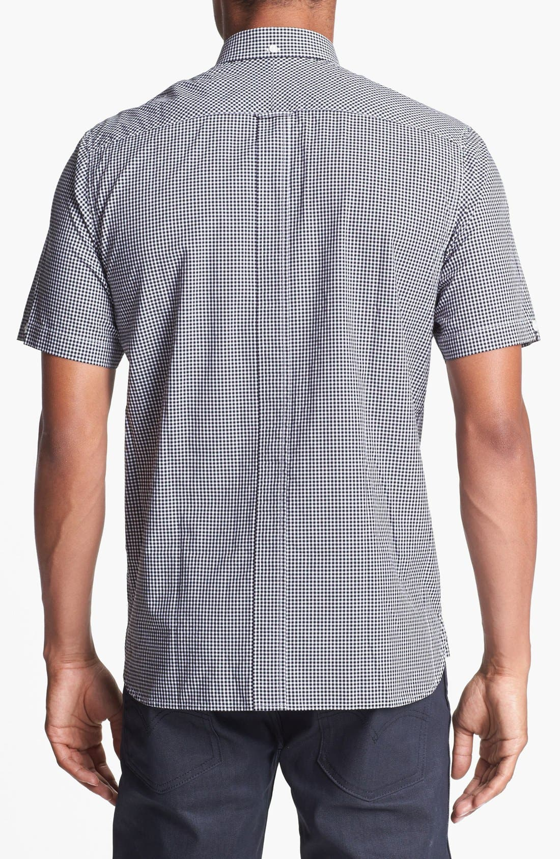 Alternate Image 2  - Fred Perry Gingham Check Shirt