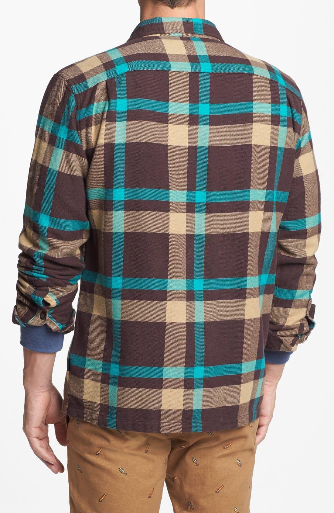 Alternate Image 2  - Patagonia 'Fjord' Regular Fit Organic Cotton Flannel Shirt
