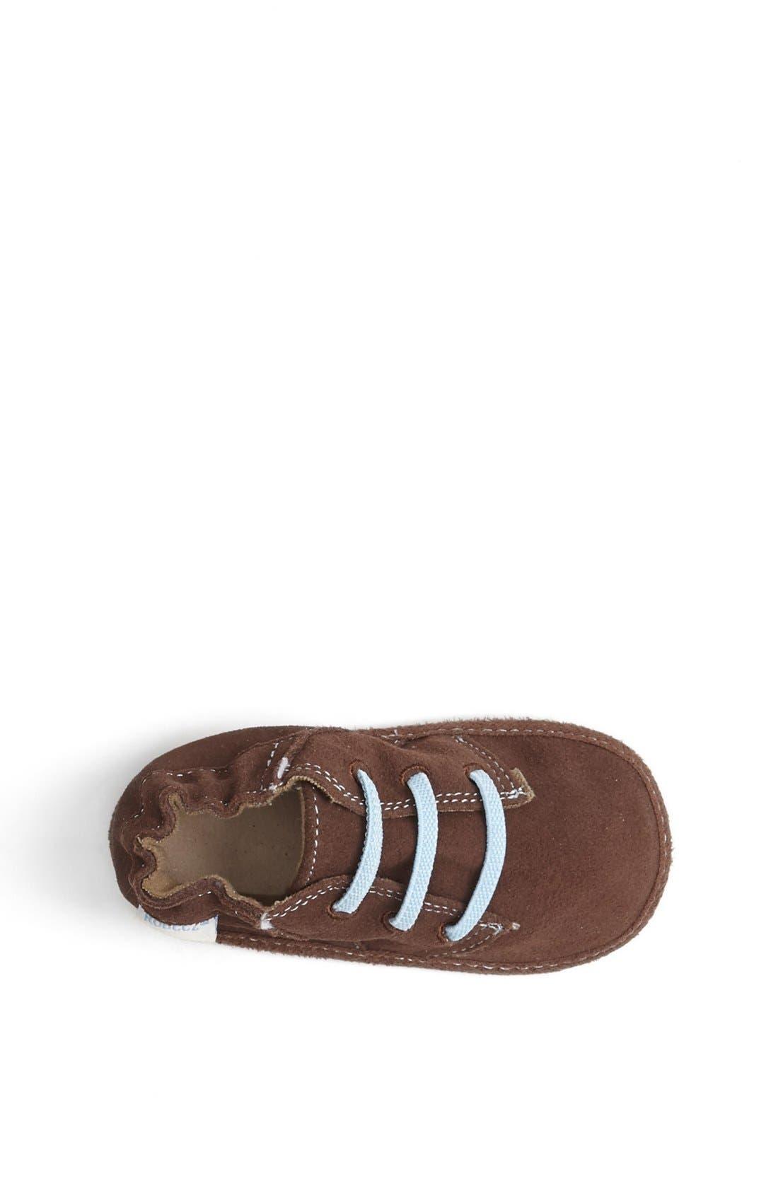 Alternate Image 3  - Robeez® 'Charlie' Crib Shoe (Baby & Walker)