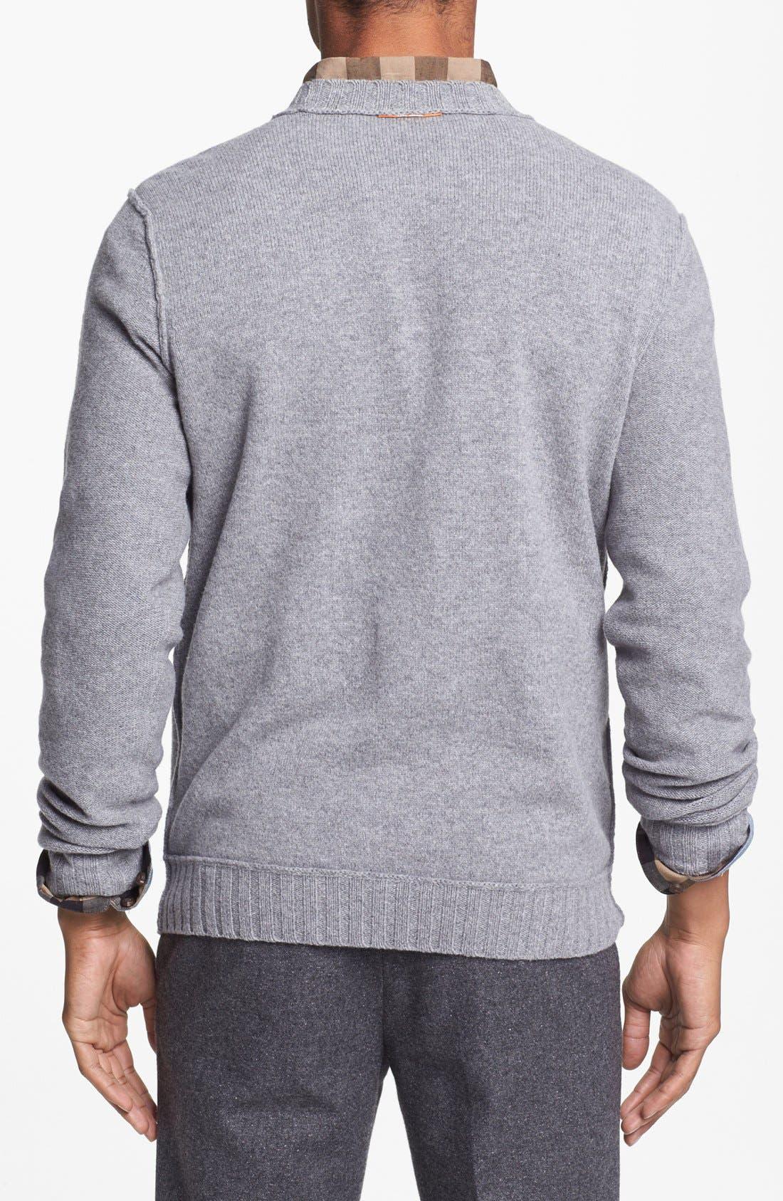 Alternate Image 4  - BOSS Orange 'Adwin' Crewneck Sweater