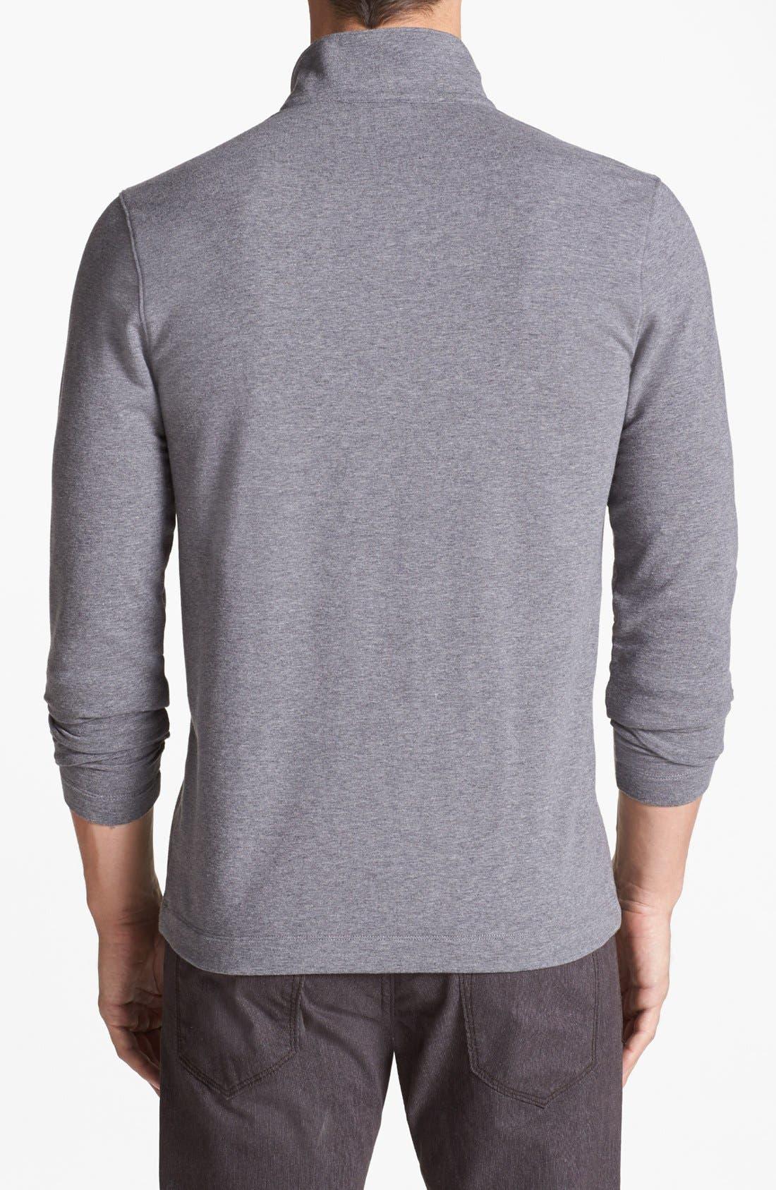Alternate Image 2  - Michael Kors Fleece Long Sleeve Top