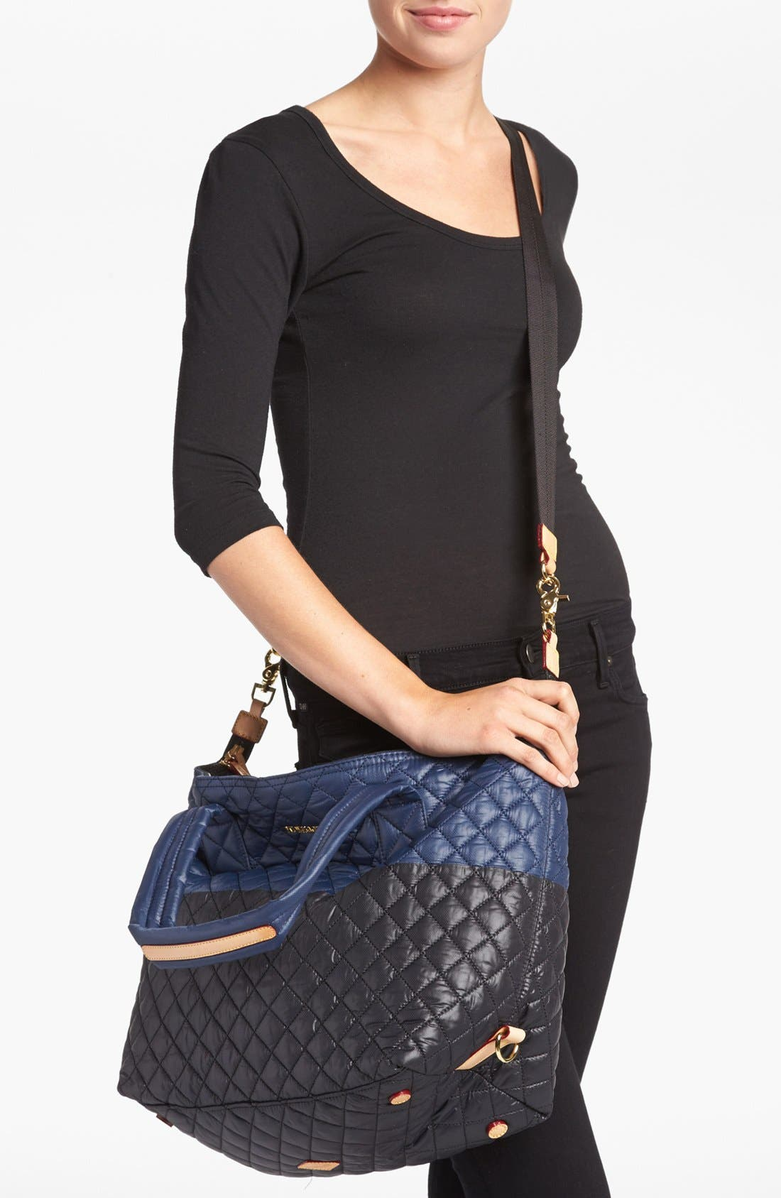 Alternate Image 2  - MZ Wallace 'Large Sutton' Quilted Tote