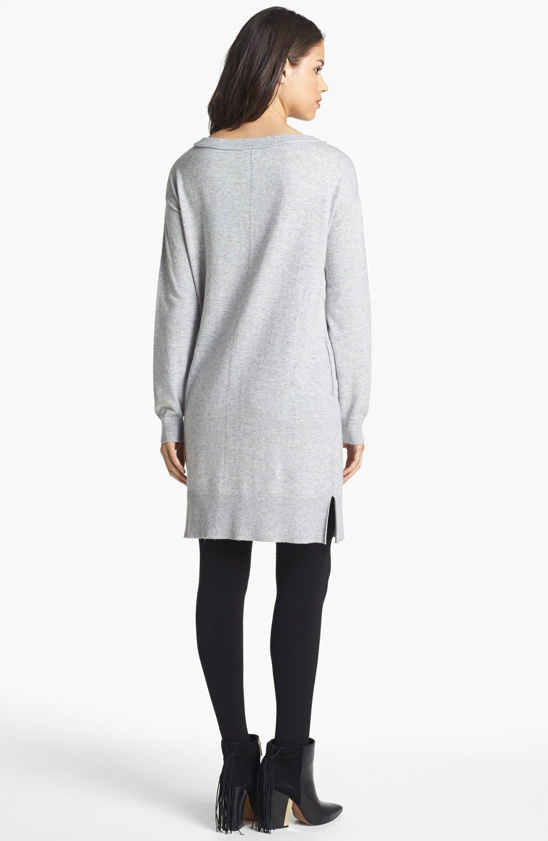 Alternate Image 2  - Press Pocket Detail Sweater Dress