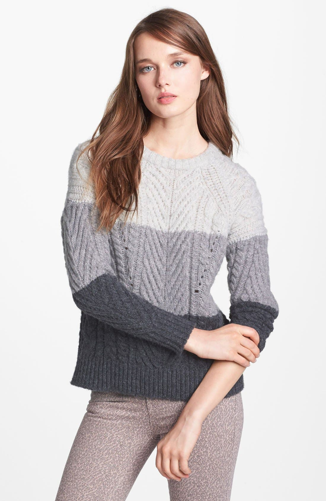 Alternate Image 1 Selected - MARC BY MARC JACOBS 'Connolly' Crewneck Sweater