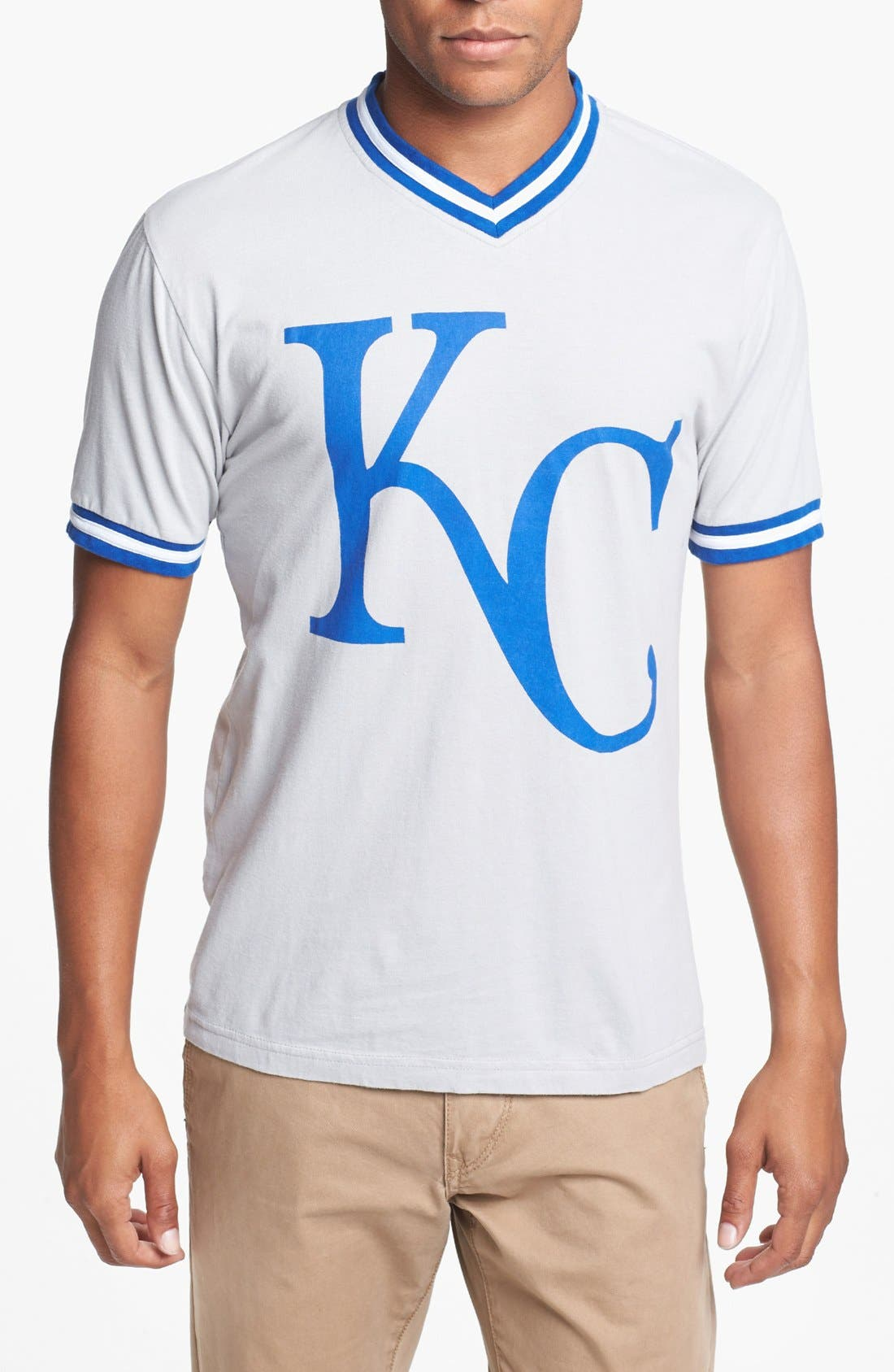 Alternate Image 1 Selected - Wright & Ditson 'Royals' V-Neck T-Shirt