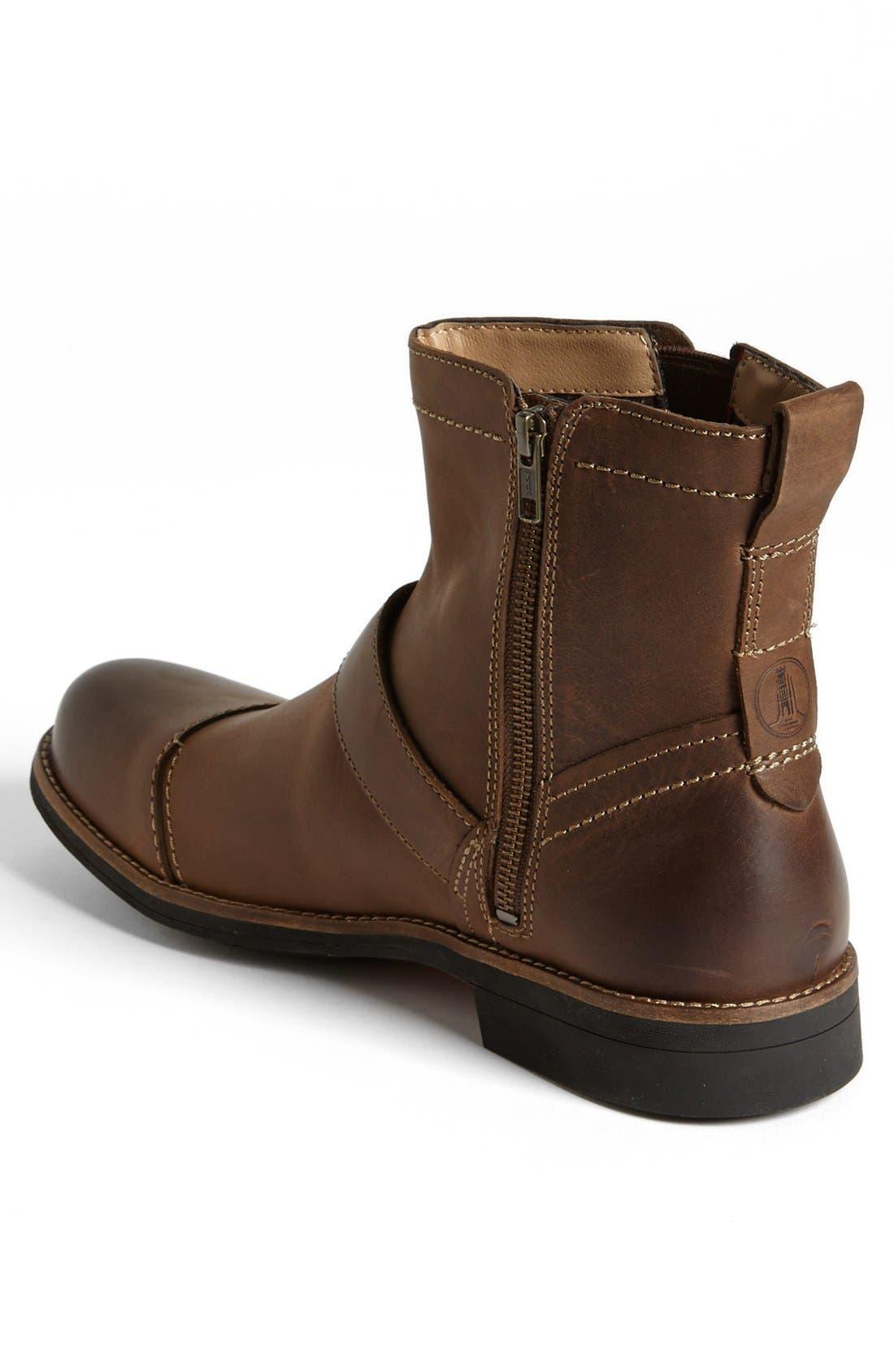Alternate Image 2  - Clarks® 'Meldon Strap' Zip Boot
