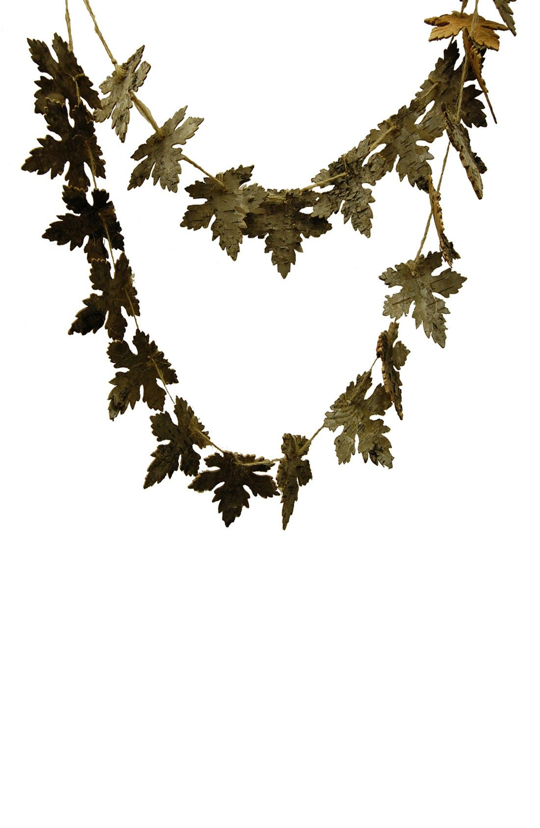 Alternate Image 1 Selected - Shea's Wildflower Artificial Maple Leaf Garland