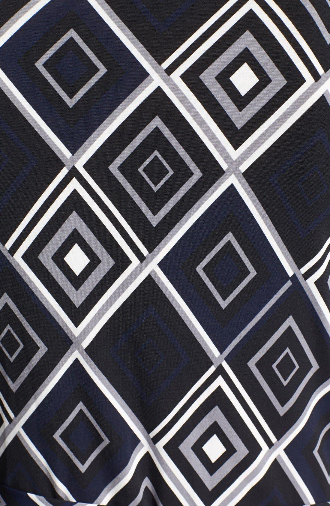 Alternate Image 3  - Anne Klein Print Faux Wrap Dress