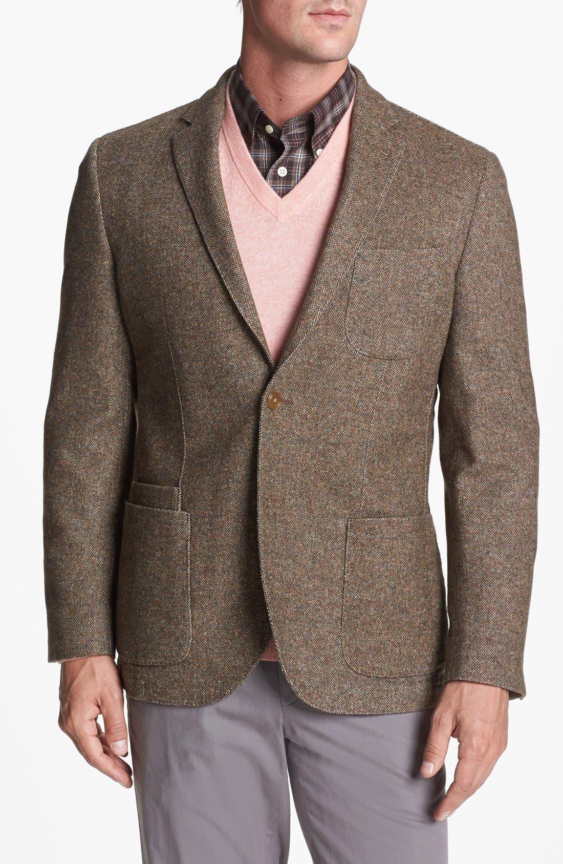 Alternate Image 1 Selected - JKT New York 'Bond' Wool Blend Blazer