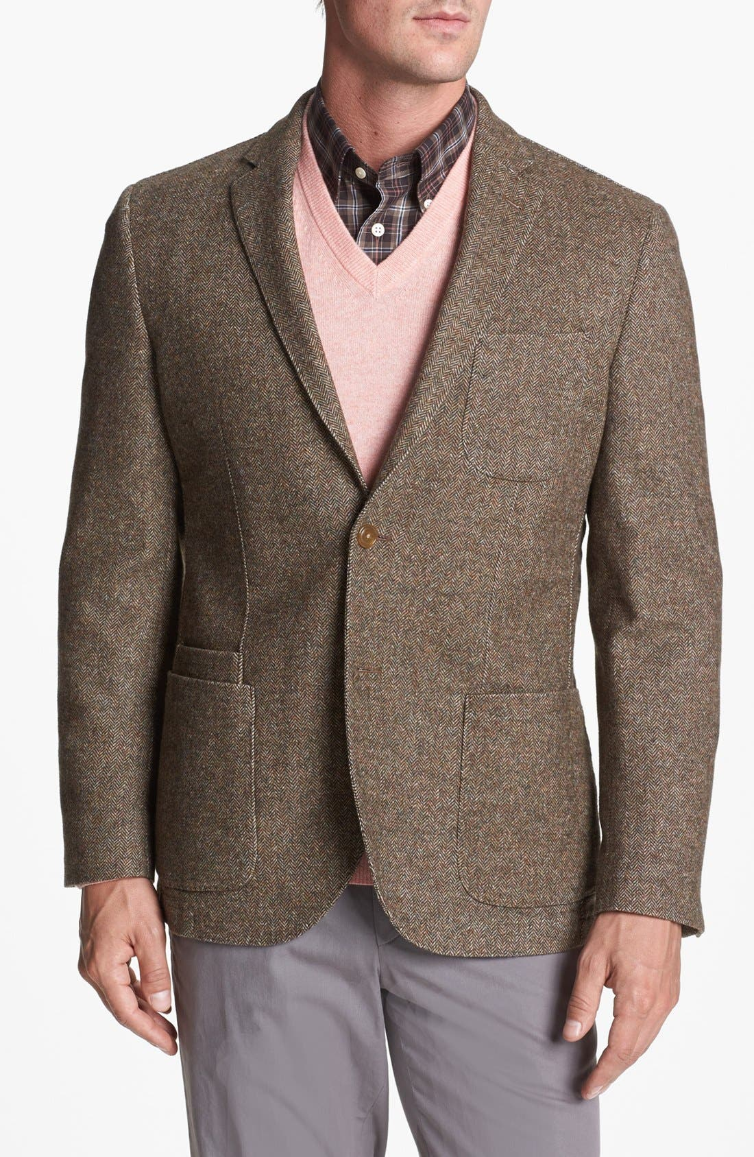 Main Image - JKT New York 'Bond' Wool Blend Blazer