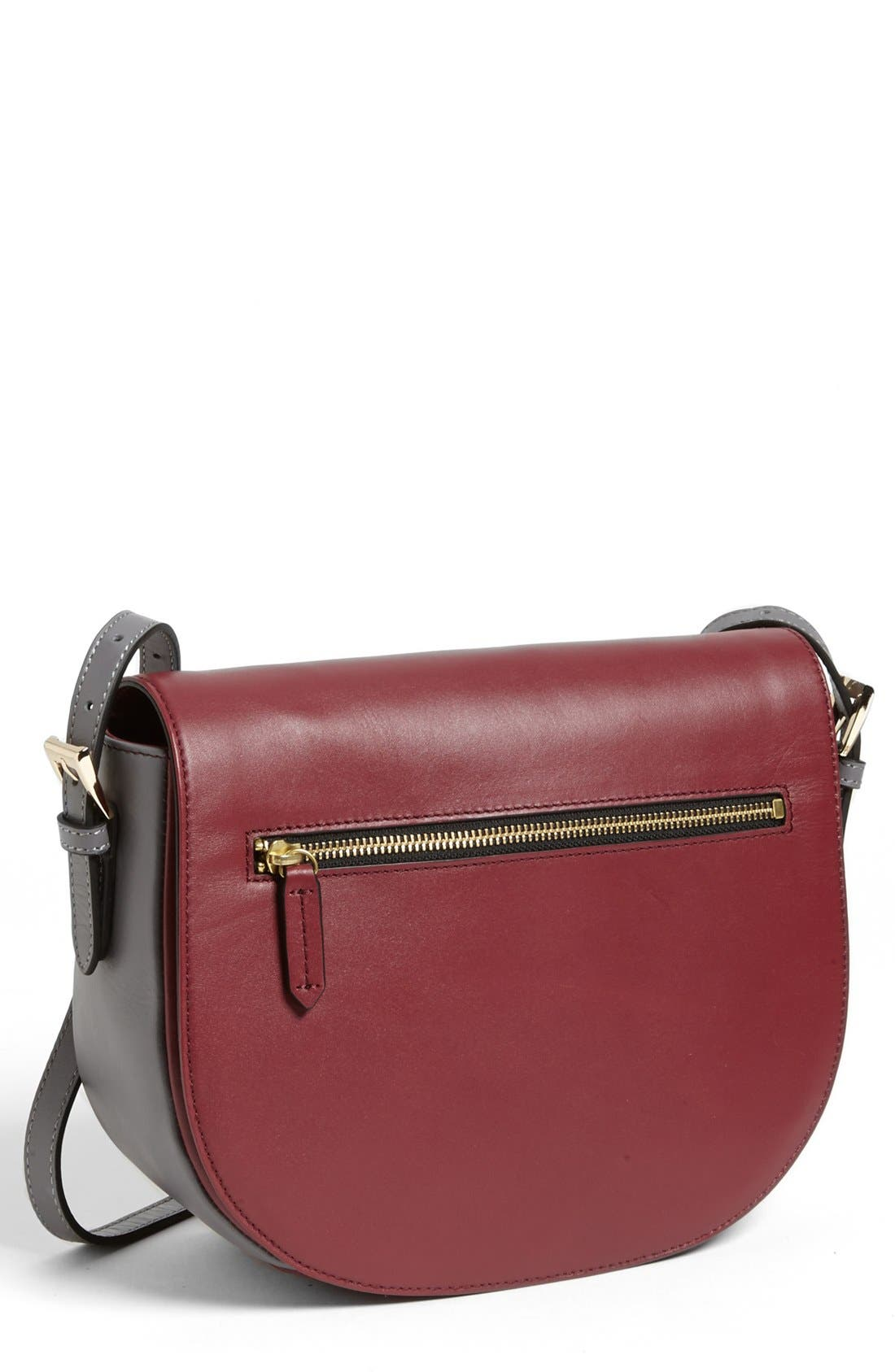 Main Image - Halogen® Colorblock Crossbody Bag, Small
