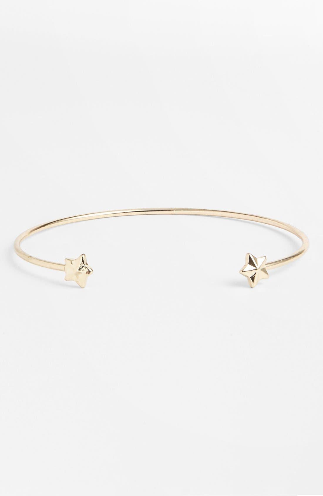 Alternate Image 1 Selected - Stephan & Co. Star Open Bangle (Juniors)