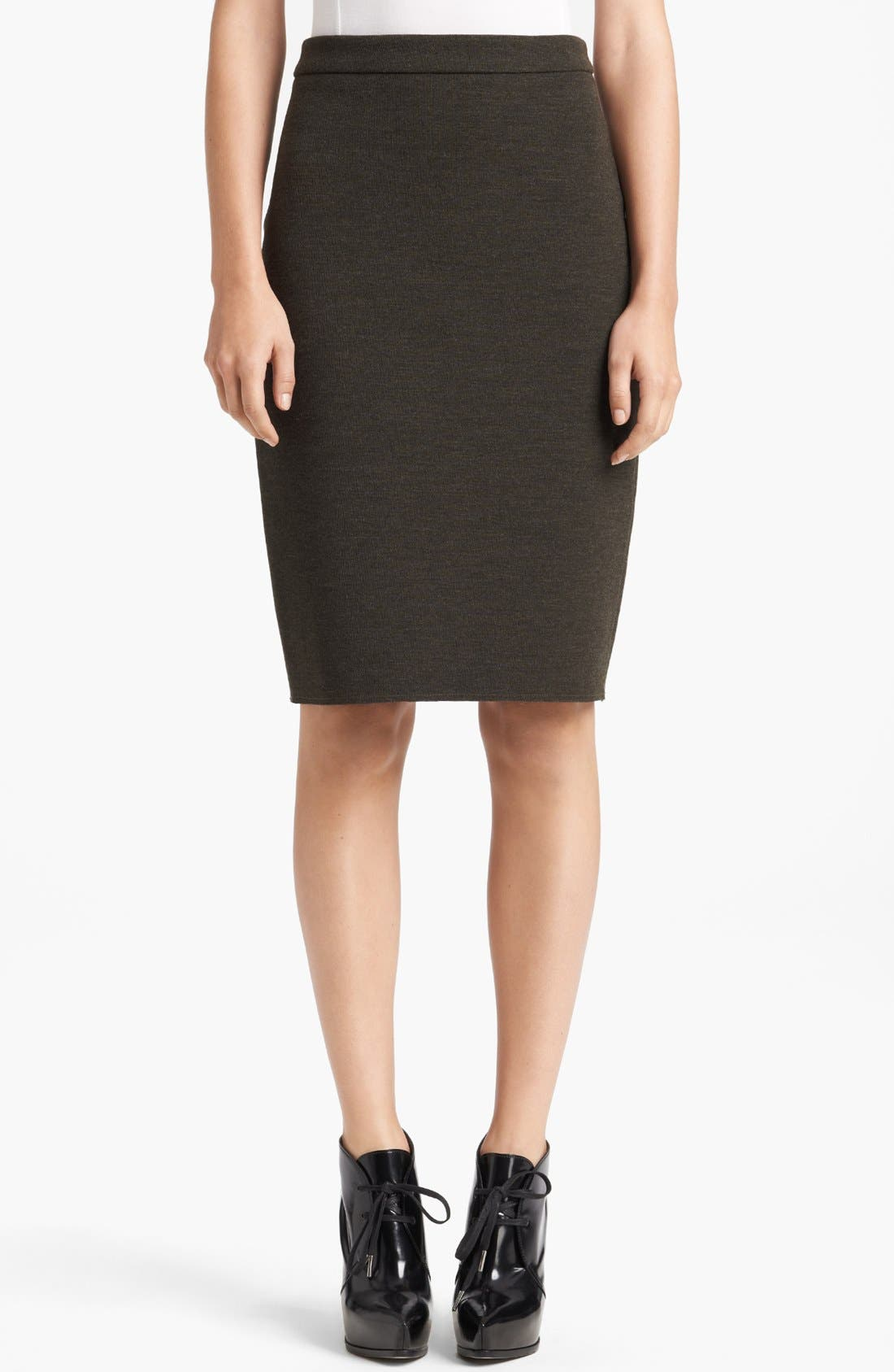 Alternate Image 1 Selected - Lanvin Slim Jersey Skirt