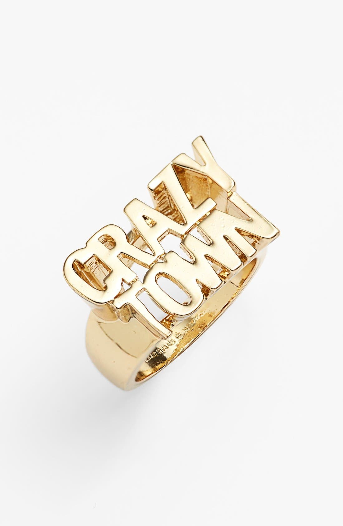 Alternate Image 1 Selected - kate spade new york 'say yes - crazy town' ring