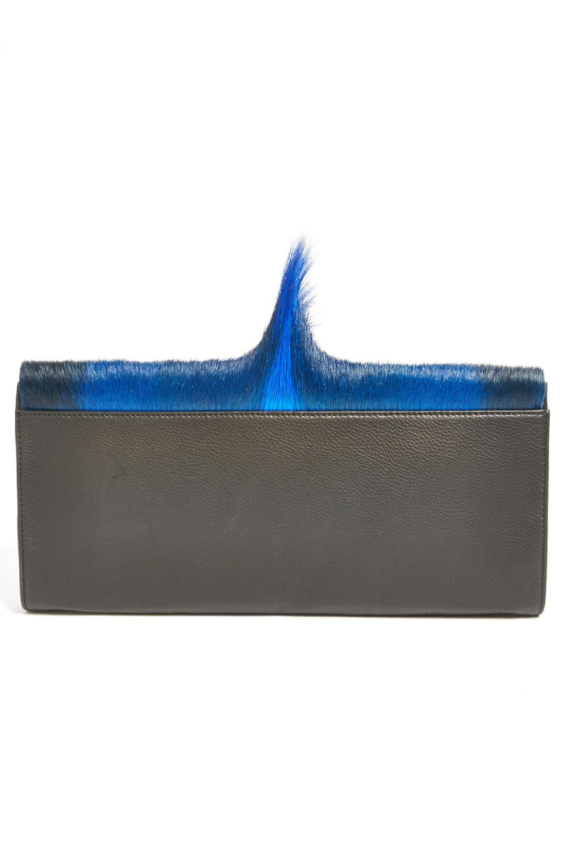 Alternate Image 4  - Ted Baker London Genuine Springbok Fur & Leather Clutch