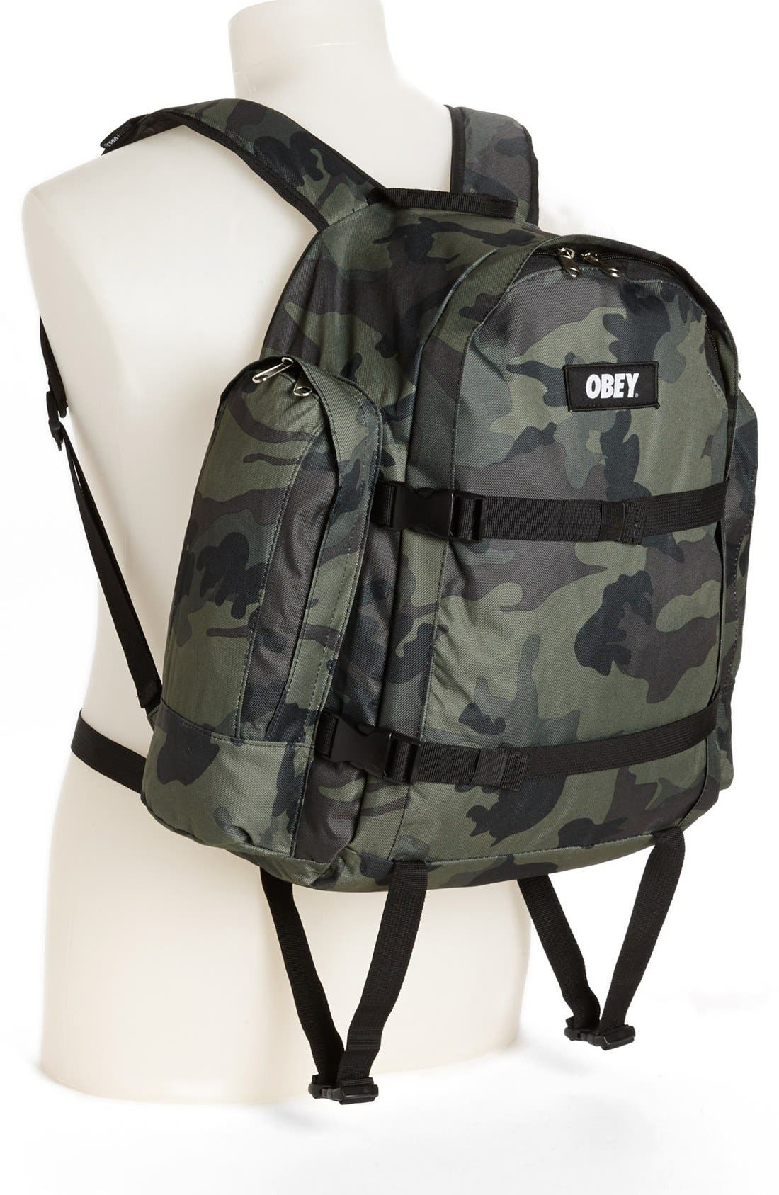 Alternate Image 4  - Obey 'Field' Backpack