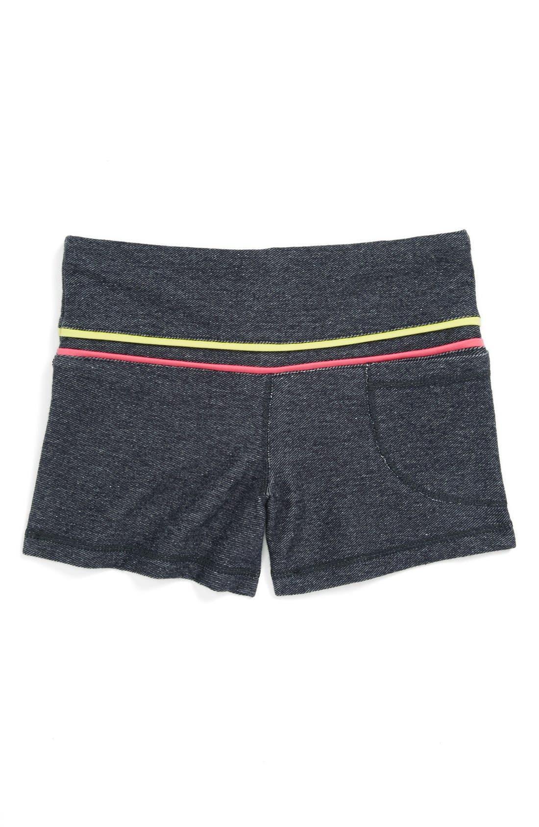 Alternate Image 2  - Limeapple 'Dance' Shorts (Big Girls)