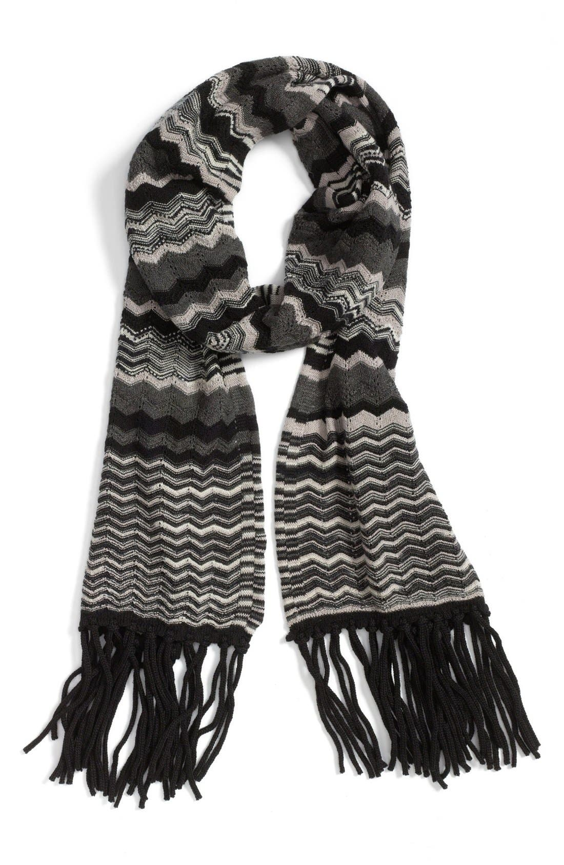 Alternate Image 1 Selected - Missoni Lightweight Zigzag Scarf