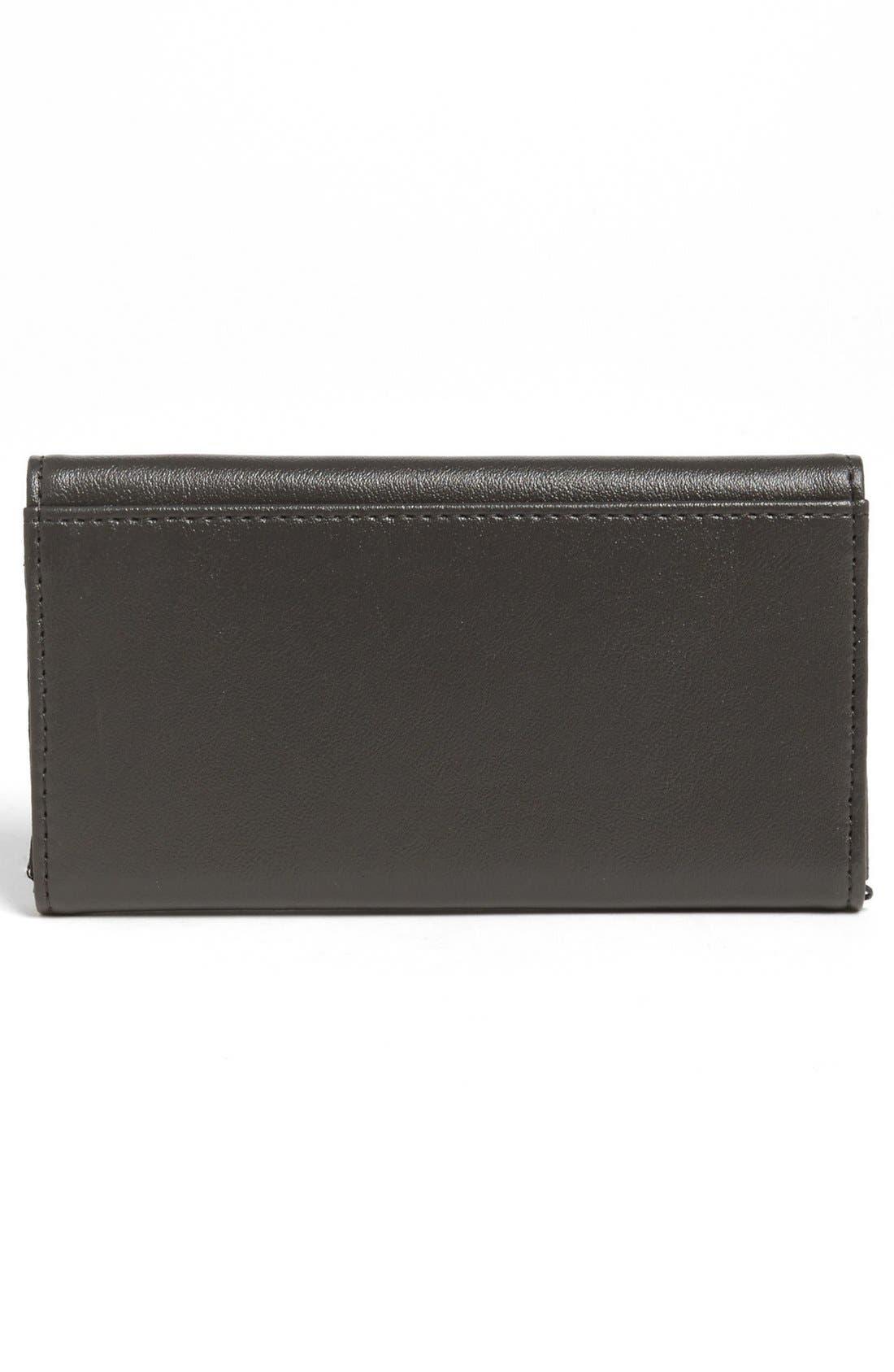Alternate Image 3  - Lulu 'Cat' Faux Leather Wallet