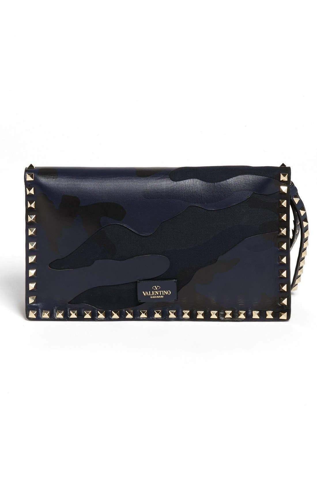 Alternate Image 4  - Valentino 'Rockstud' Camo Flap Clutch