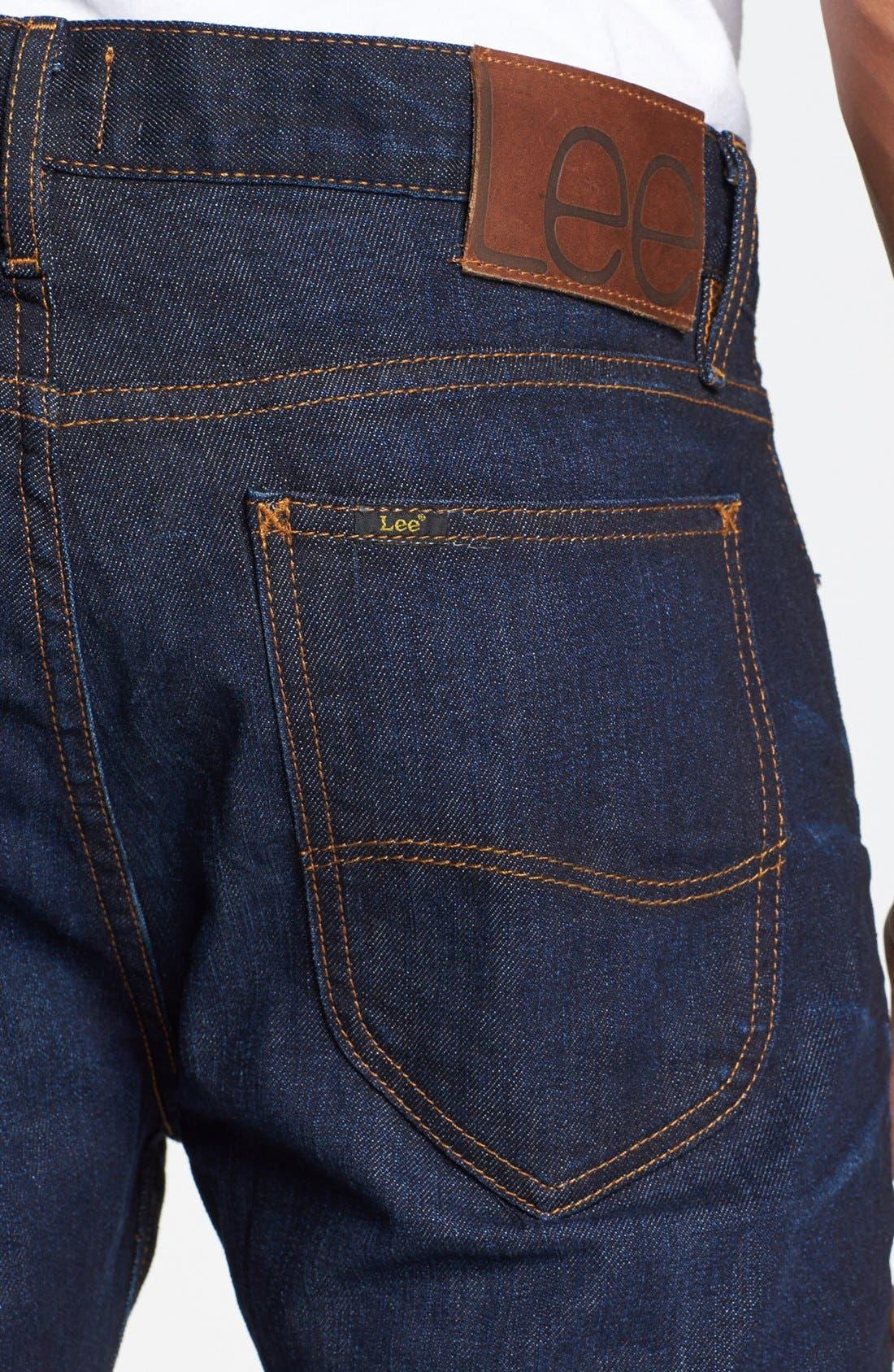 Alternate Image 4  - Lee 101 USA Straight Leg Jeans (30 Days)