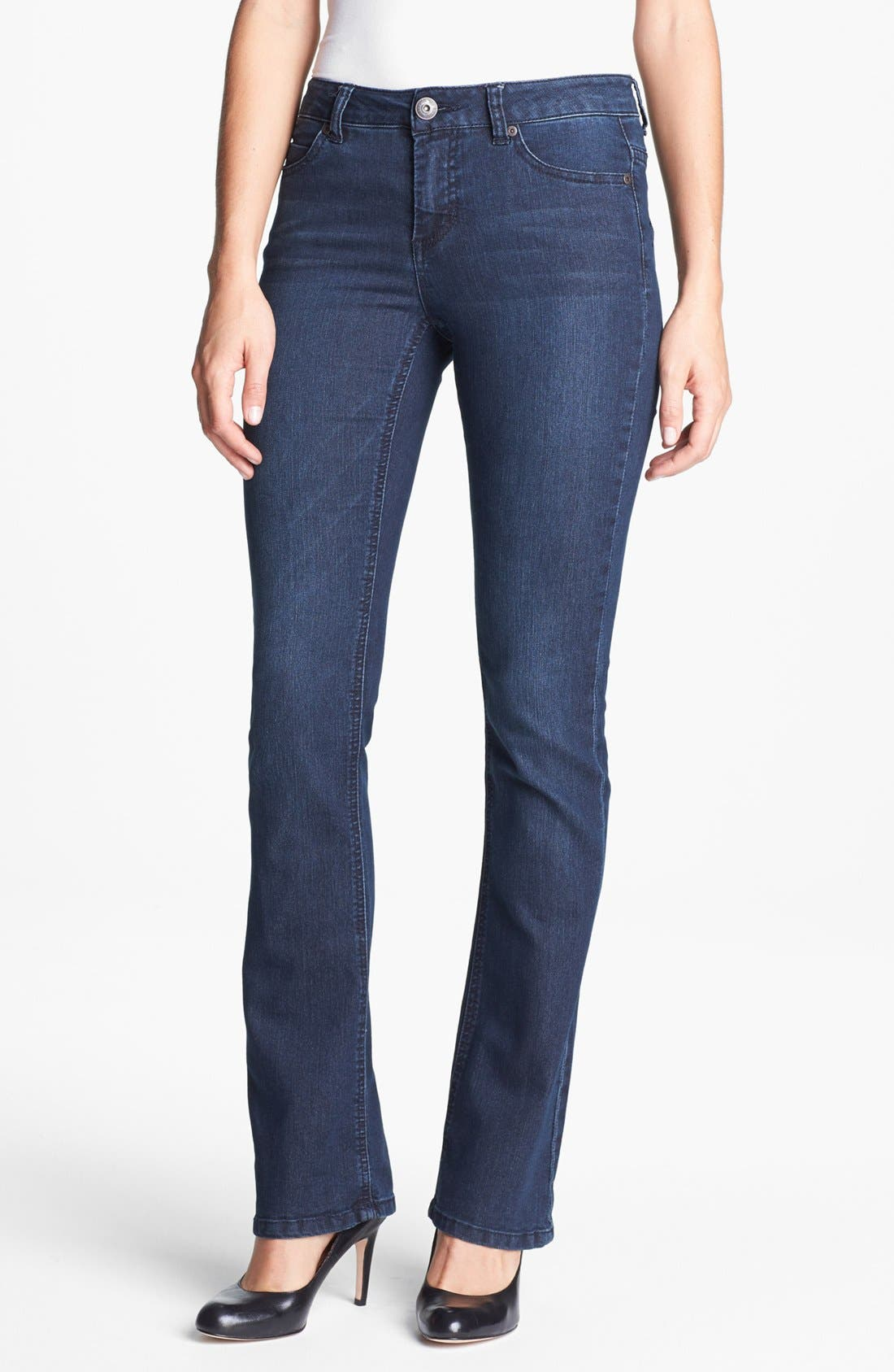 Alternate Image 1 Selected - Liverpool Jeans Company 'Rita' Bootcut Stretch Jeans (Petite)