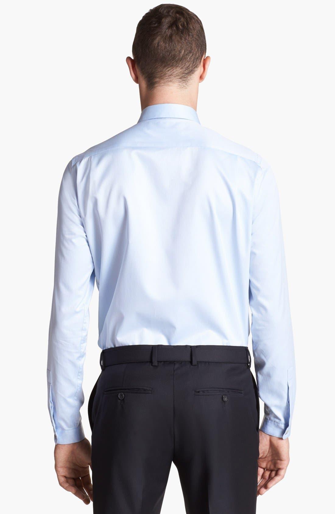 Alternate Image 2  - The Kooples Contrast Trim Dress Shirt