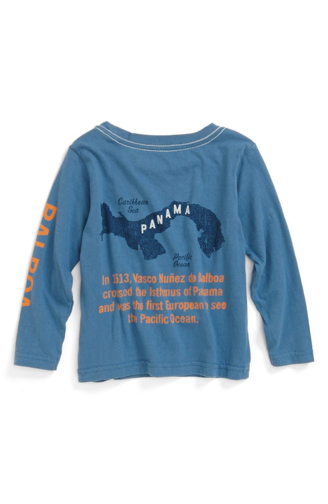 Alternate Image 2  - Peek 'Balboa' Long Sleeve T-Shirt (Baby Boys)