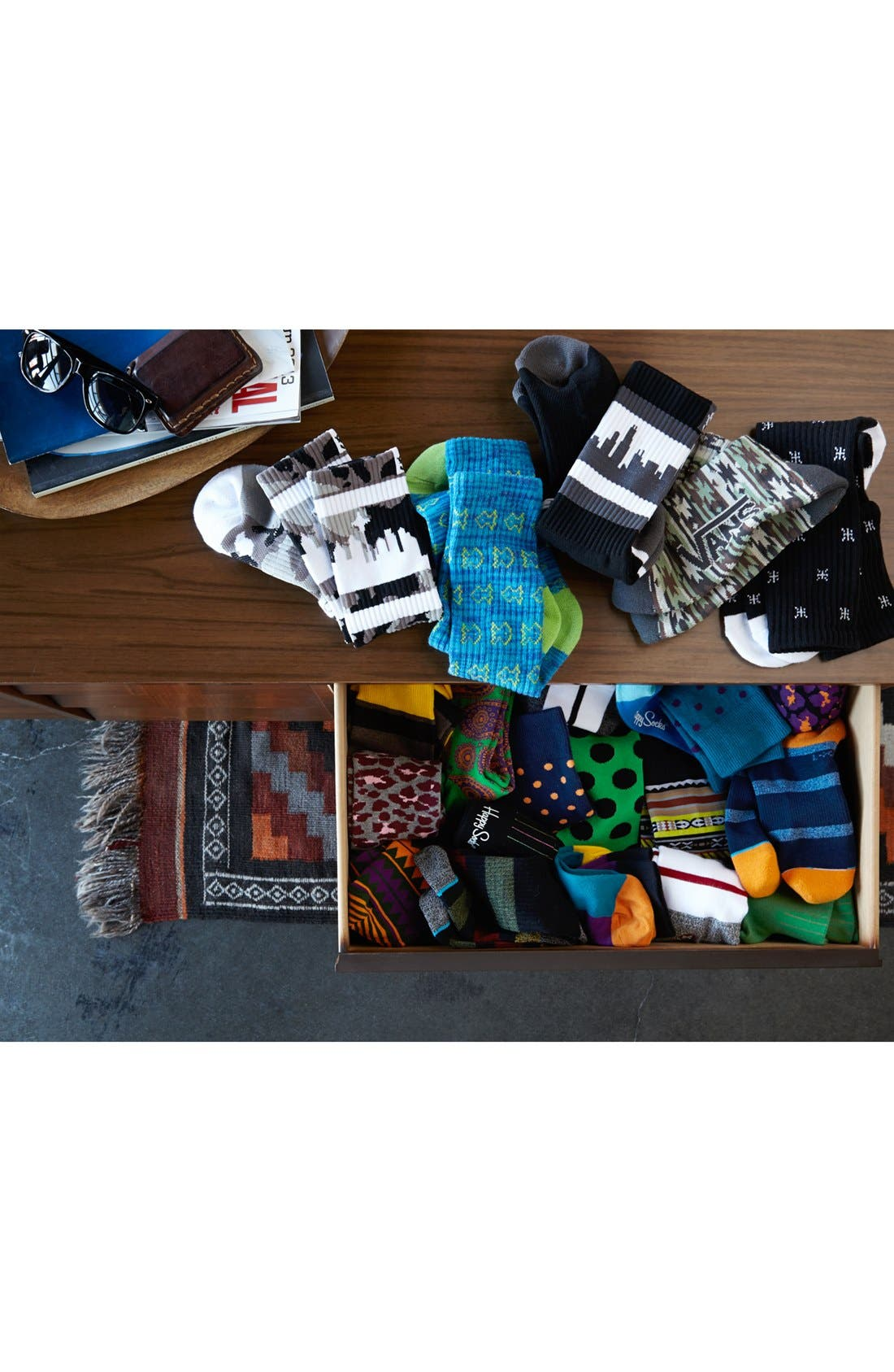 Alternate Image 3  - Happy Socks Paisley Socks