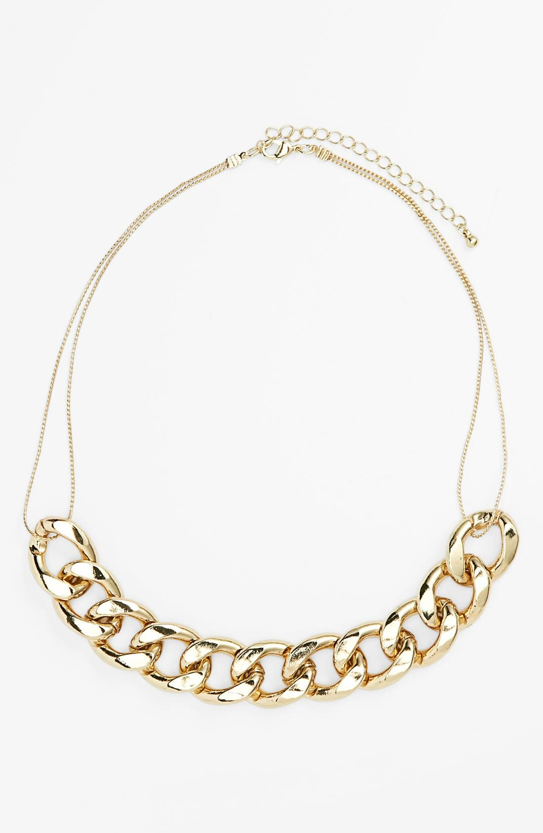 Alternate Image 1 Selected - Stephan & Co. Mixed Chain Necklace (Juniors) (Online Only)