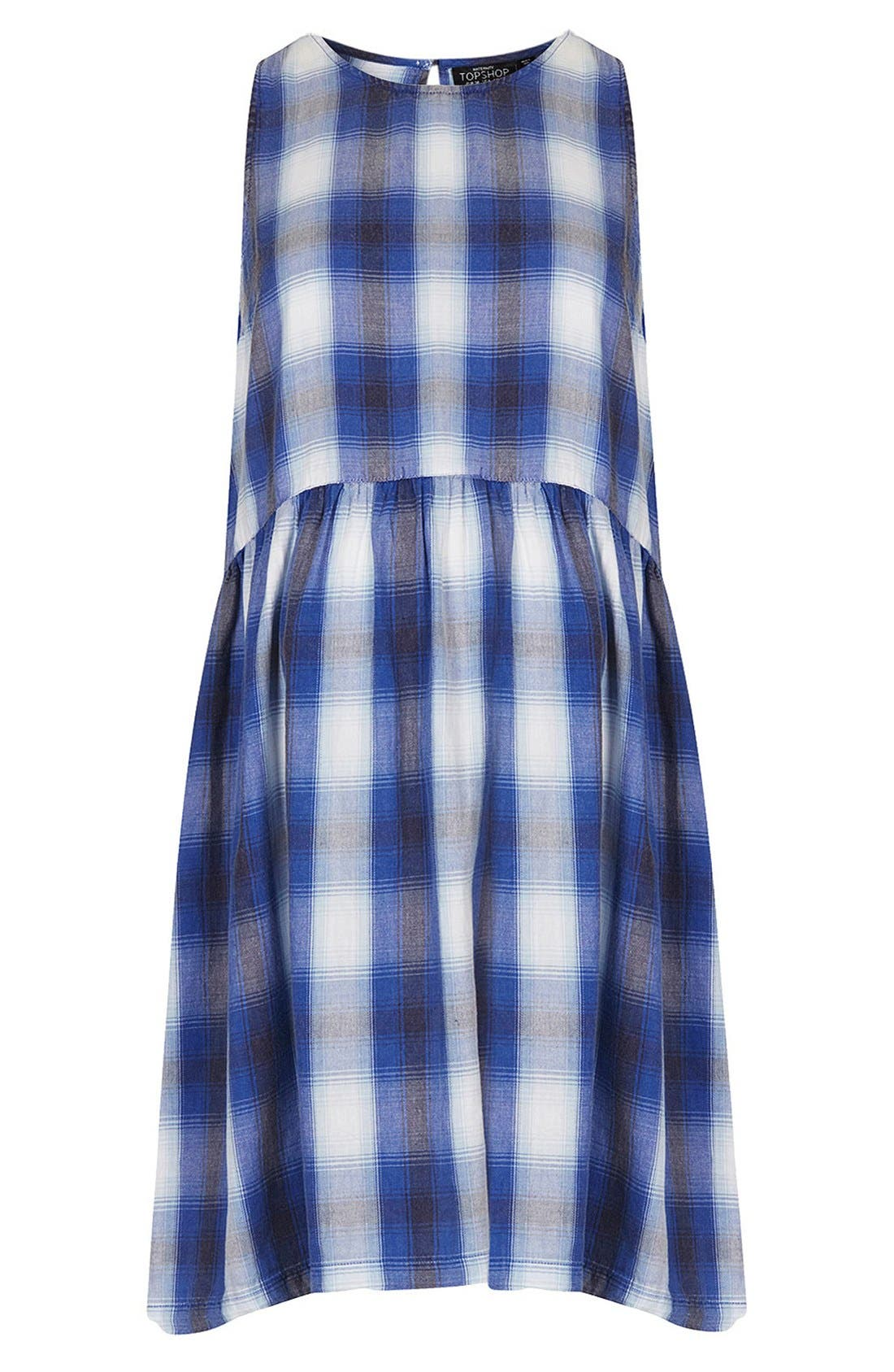 Alternate Image 1 Selected - Topshop Check Maternity Dress