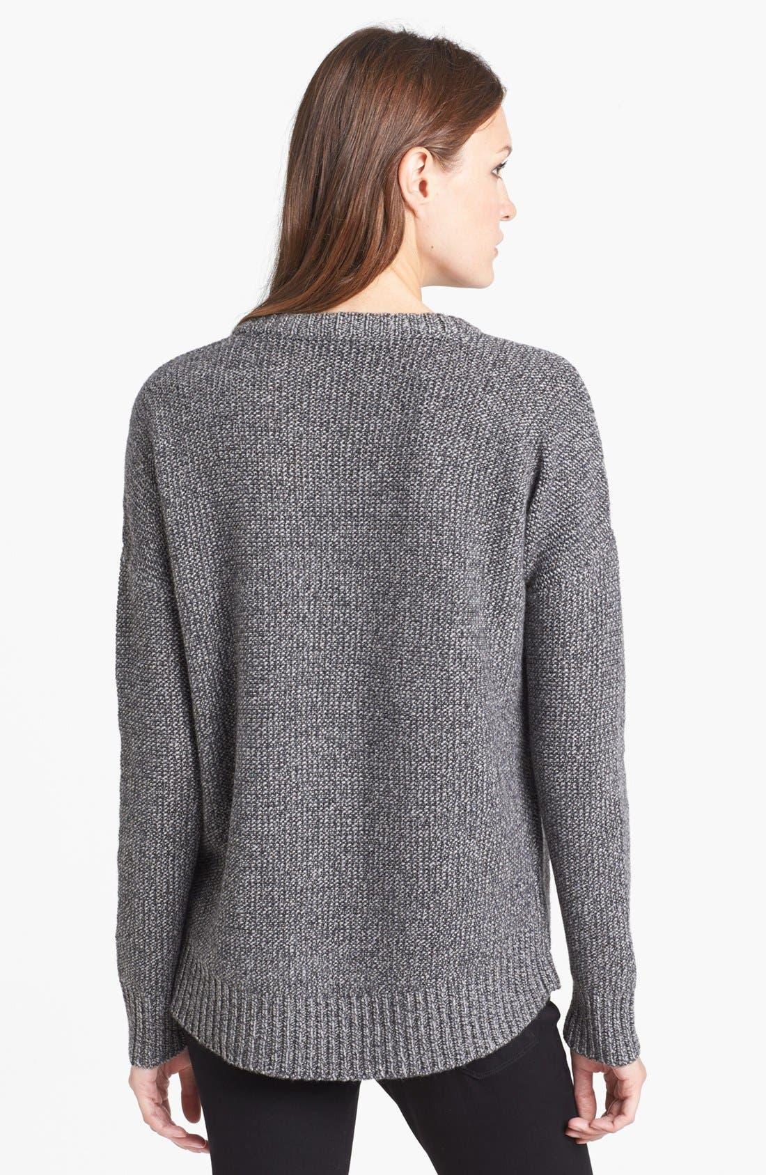 Alternate Image 2  - Theory 'Clancia' Wool Blend Sweater