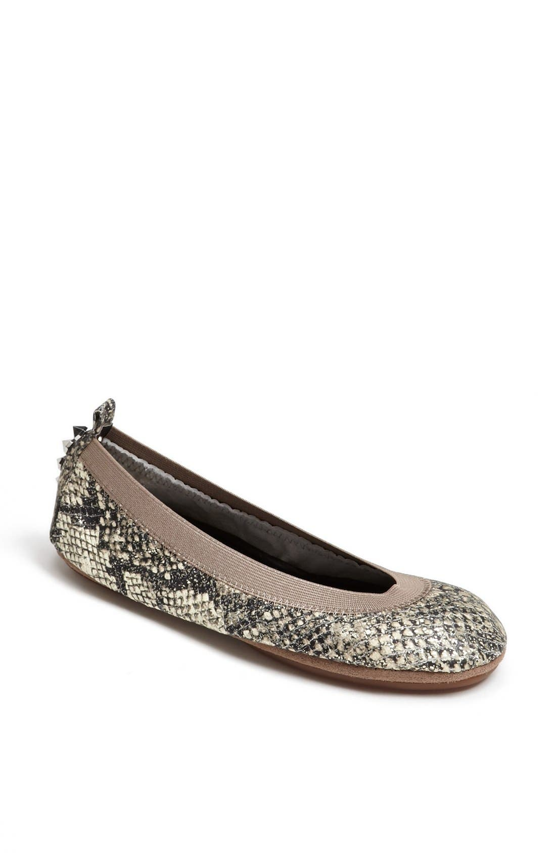 Alternate Image 1 Selected - Yosi Samra Studded Foldable Ballet Flat