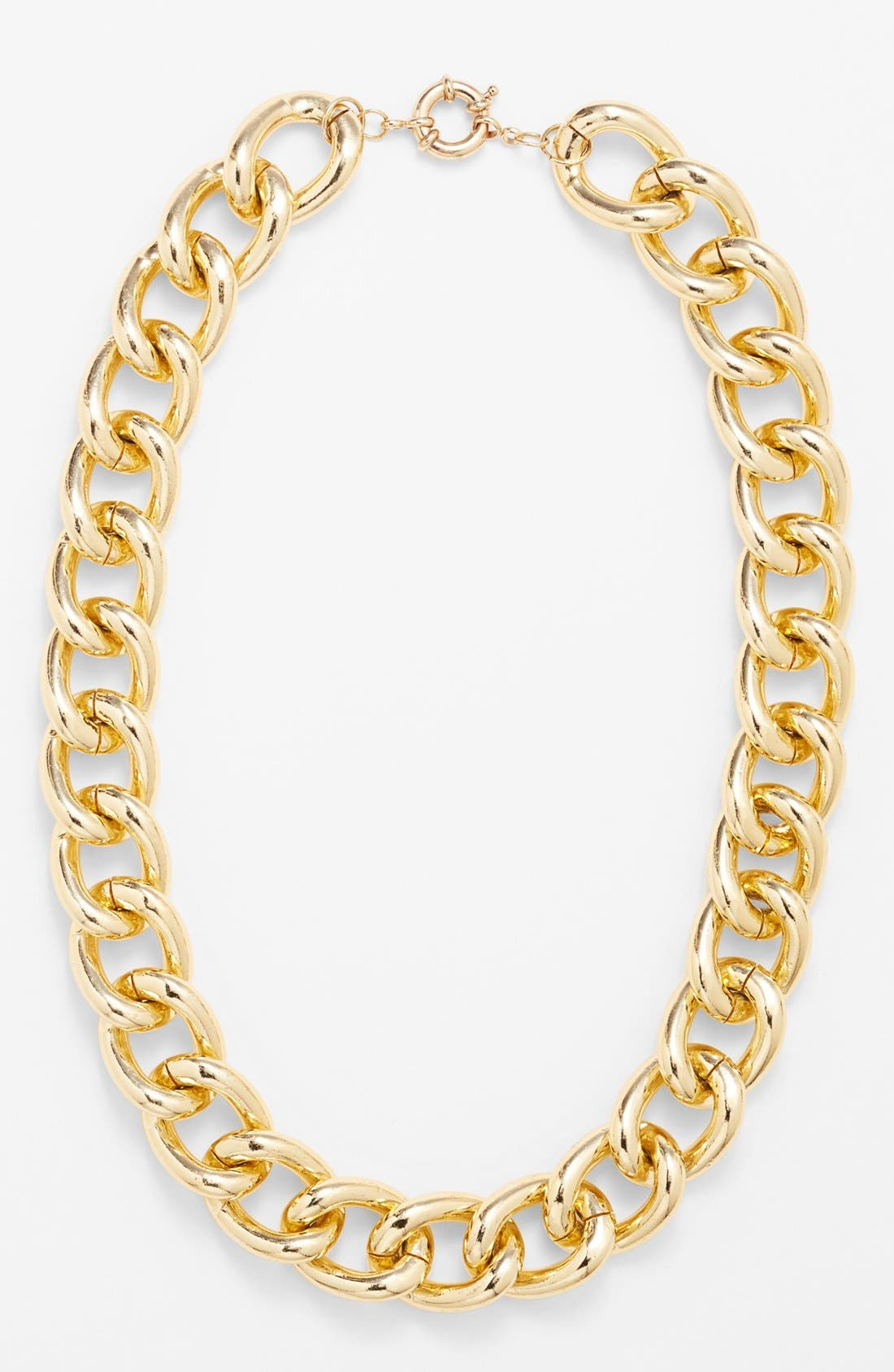 Main Image - Stephan & Co. Chunky Chain Necklace (Juniors)
