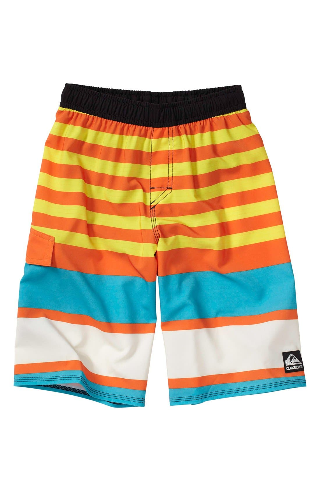 Alternate Image 1 Selected - Quiksilver 'Why Can't You' Volley Shorts (Little Boys)
