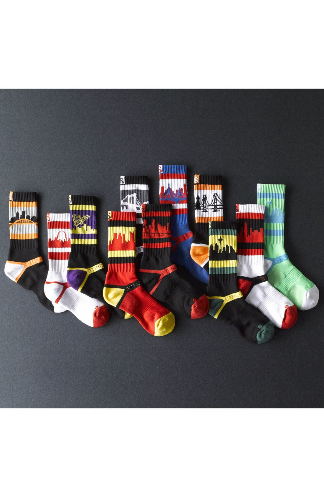 Alternate Image 3  - STRIDELINE 'Brooklyn' Socks
