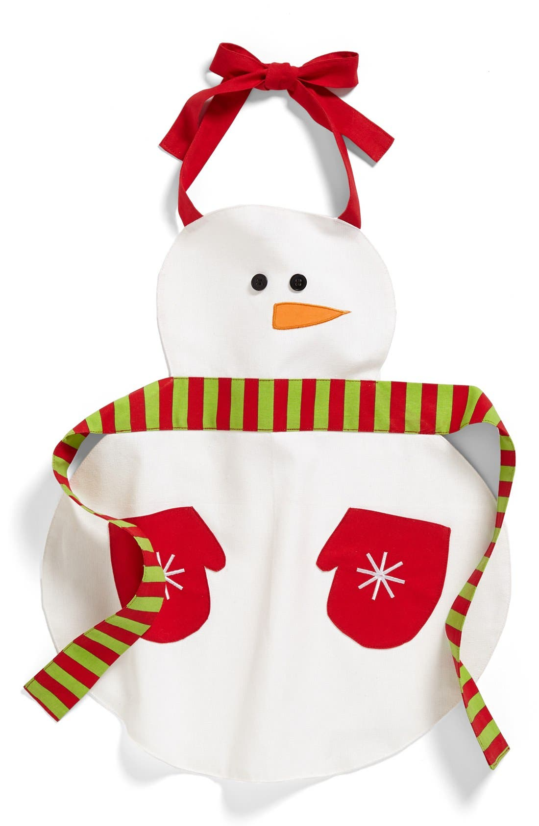Alternate Image 2  - Design Imports Snowman Child's Apron