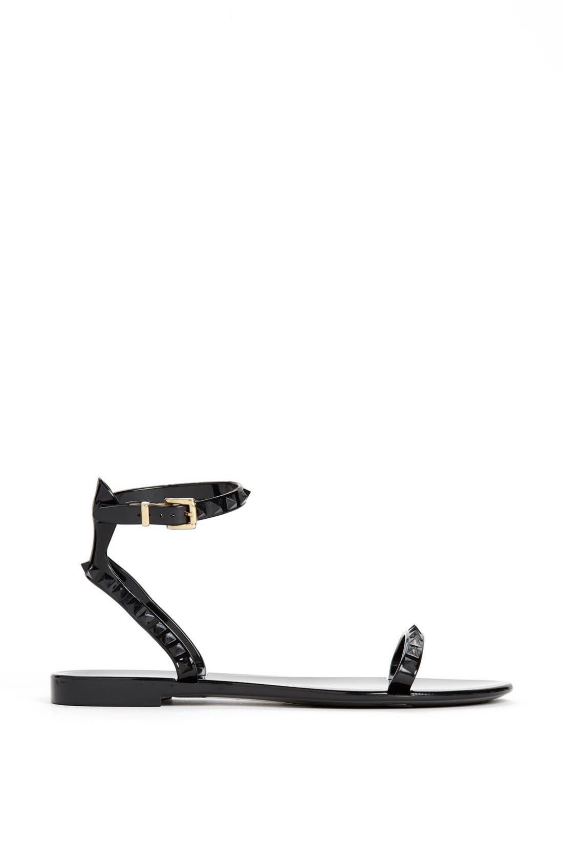 Alternate Image 4  - Valentino 'Rockstud' Ankle Strap Sandal