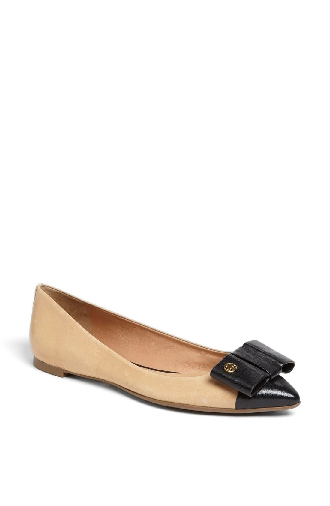 Alternate Image 1 Selected - Tory Burch 'Aimee' Flat (Online Only)
