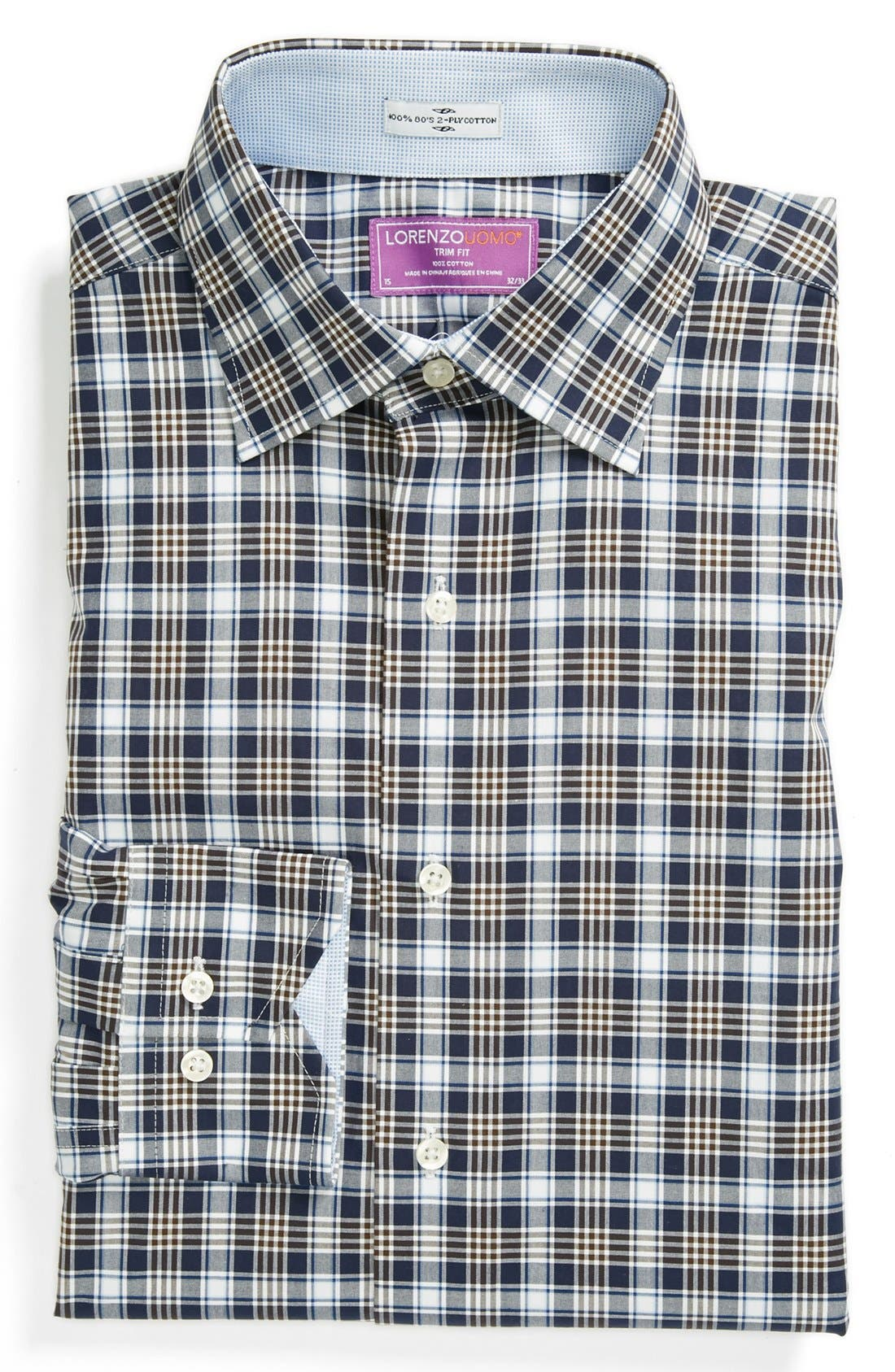 Main Image - Lorenzo Uomo Trim Fit Dress Shirt