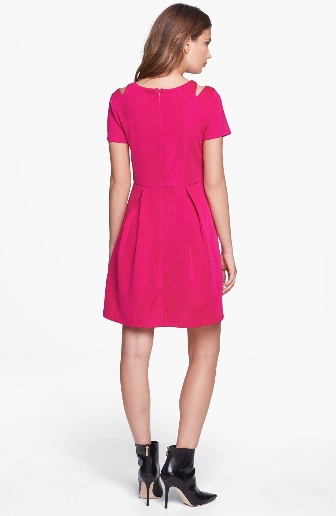 Alternate Image 2  - MINKPINK Shoulder Cutout Fit & Flare Dress