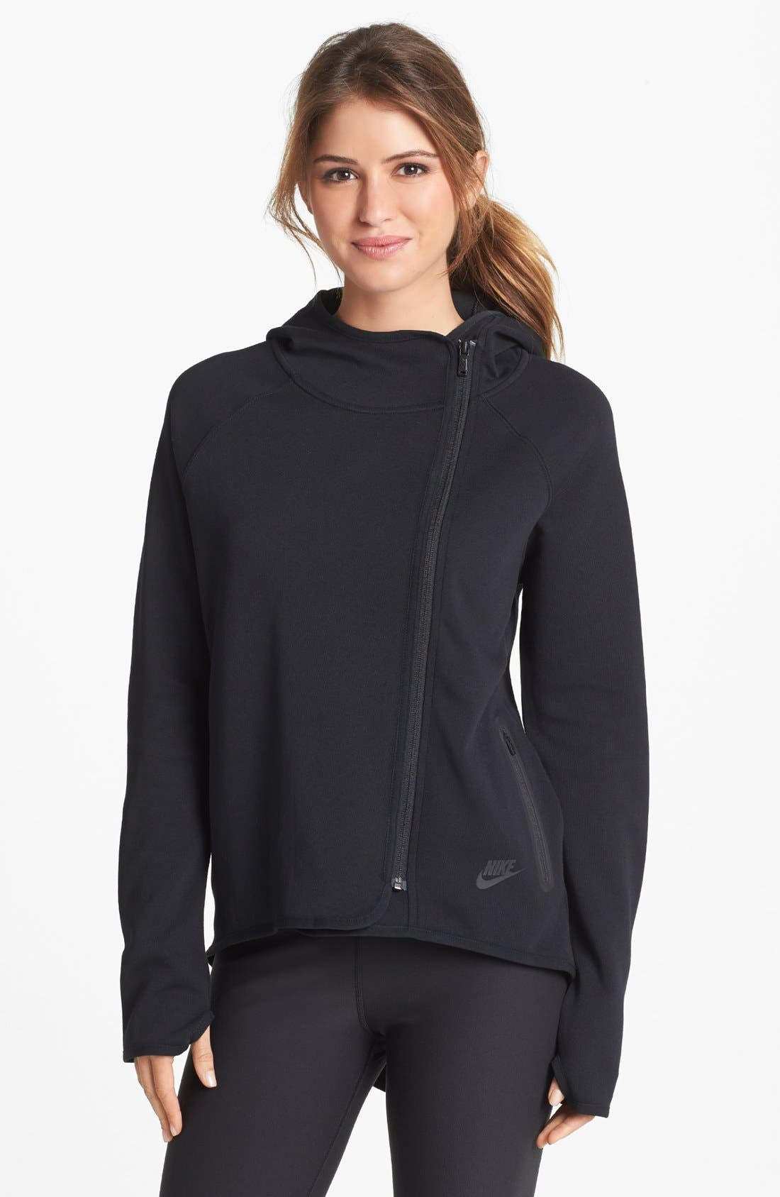 Alternate Image 1  - Nike 'Tech' Cape Jacket