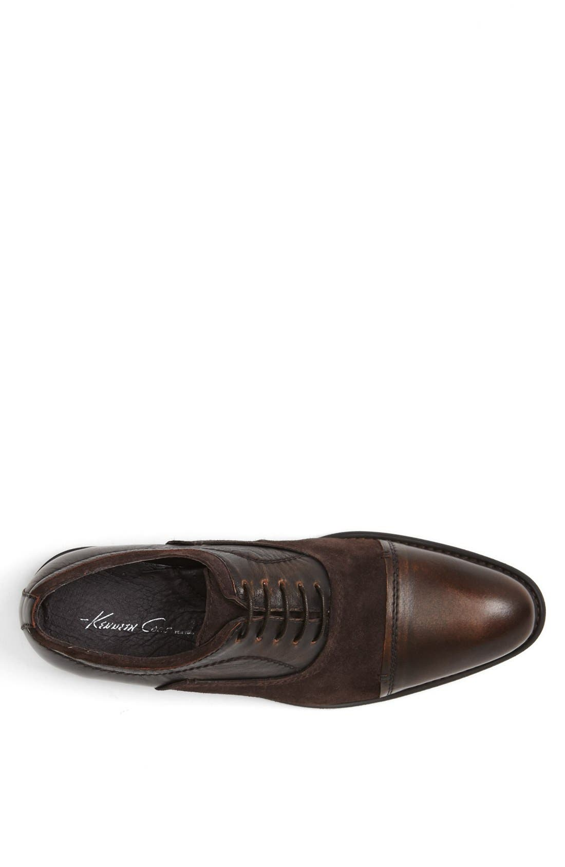 Alternate Image 3  - Kenneth Cole New York 'Wishing Star' Cap Toe Oxford