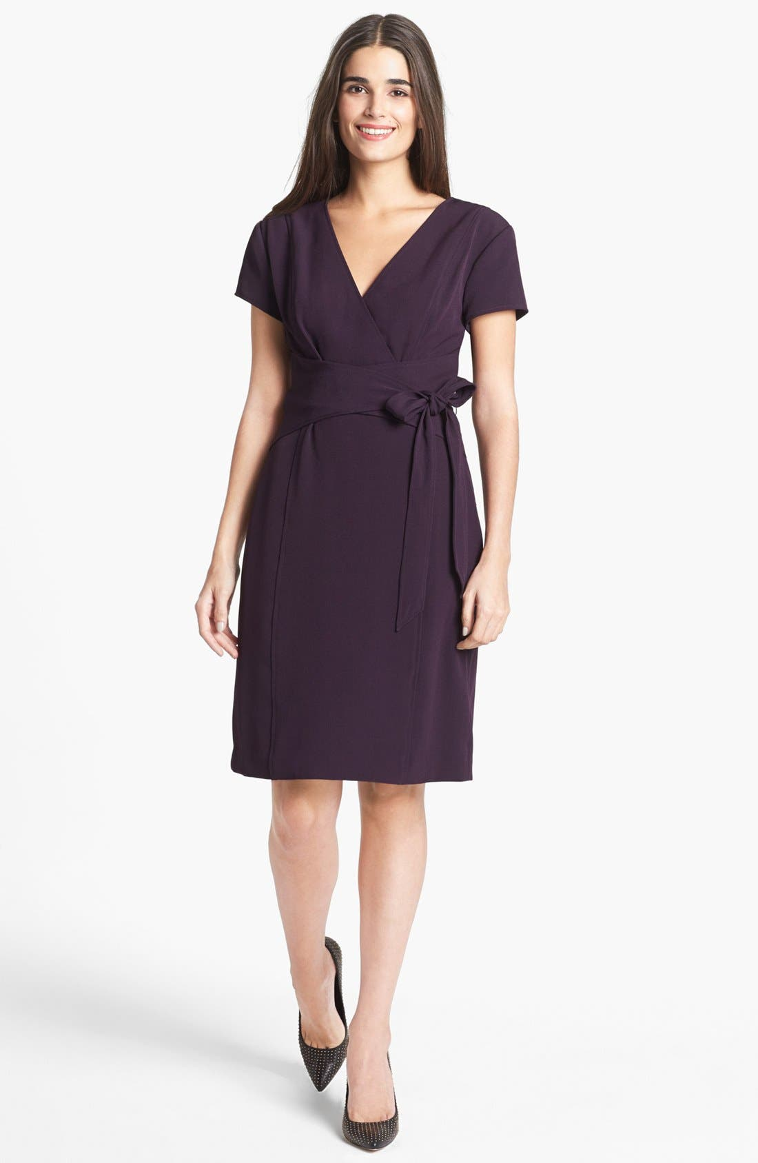Main Image - Ellen Tracy Faux Wrap Dress