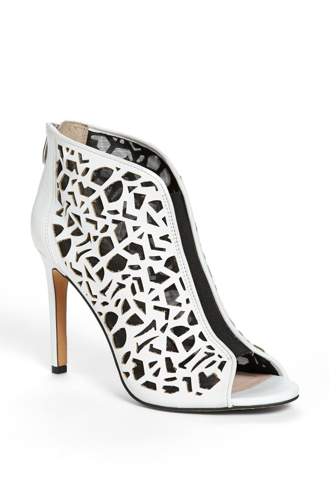 Main Image - Vince Camuto 'Kalista' Peep Toe Leather Bootie
