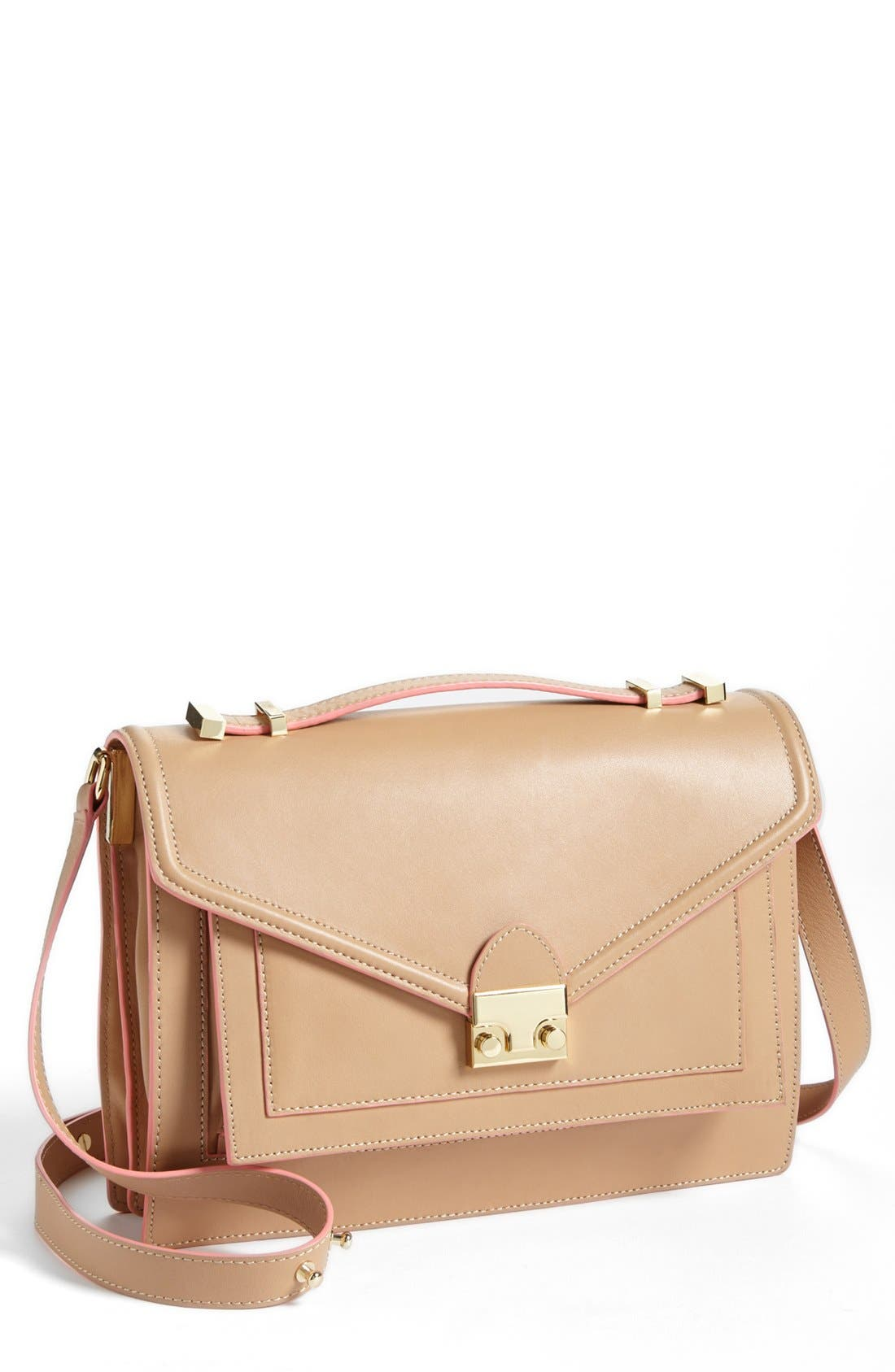 Alternate Image 1 Selected - Loeffler Randall 'Rider' Leather Satchel