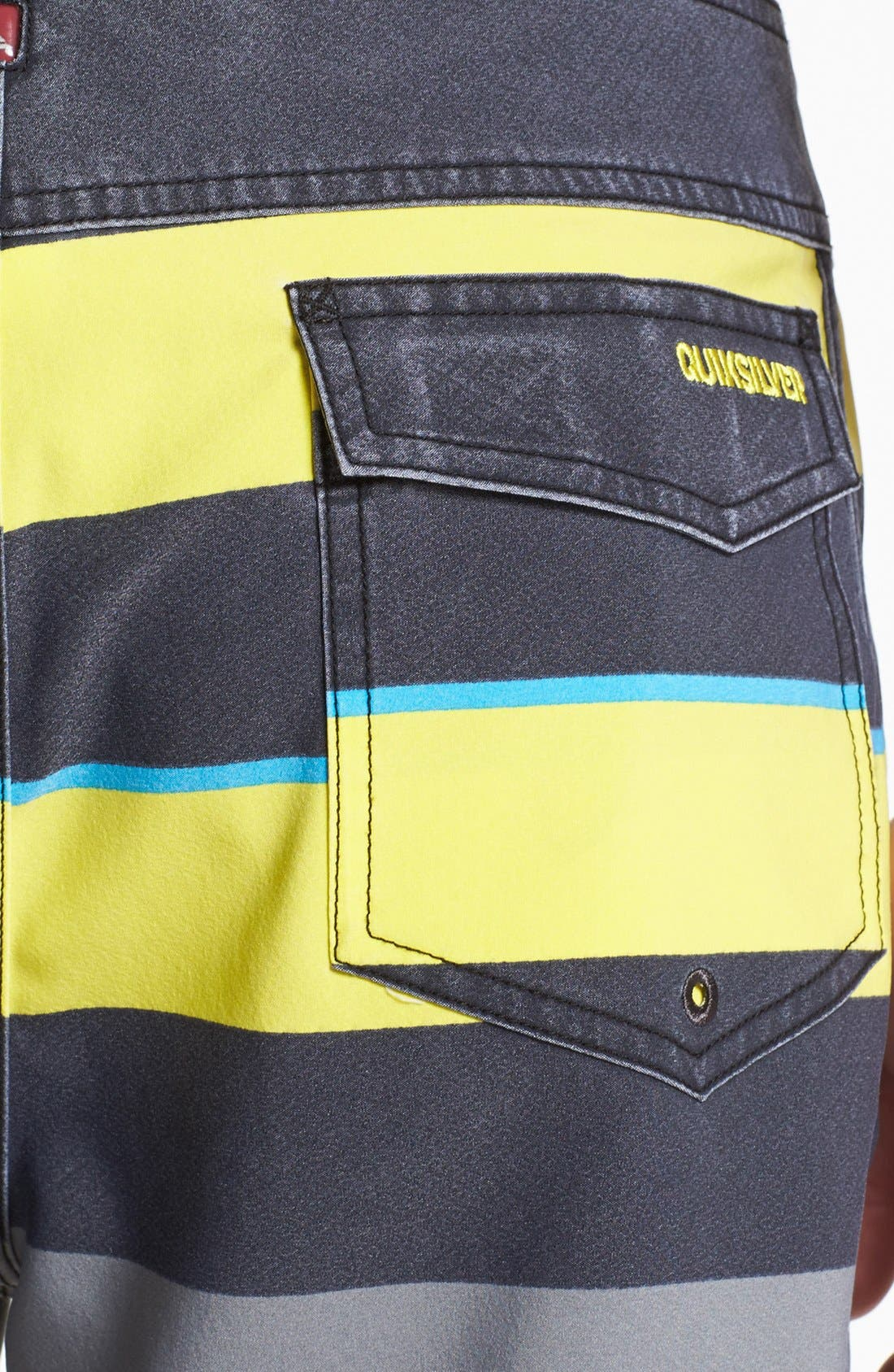 Alternate Image 3  - Quiksilver 'Cypher Briggs' Scalloped Board Shorts