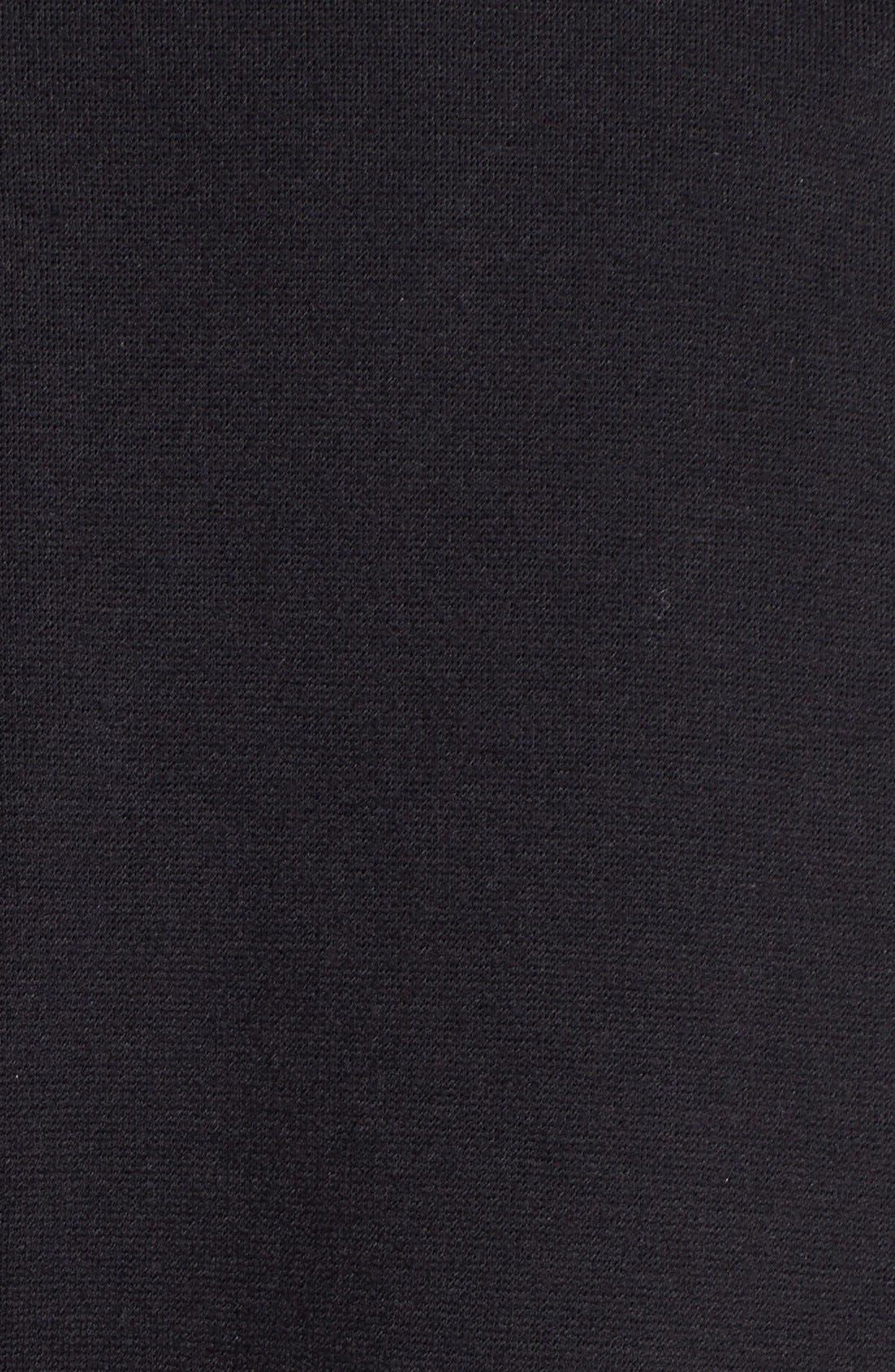 Alternate Image 3  - Vince Camuto Faux Calf Hair & Ponte Knit Jacket