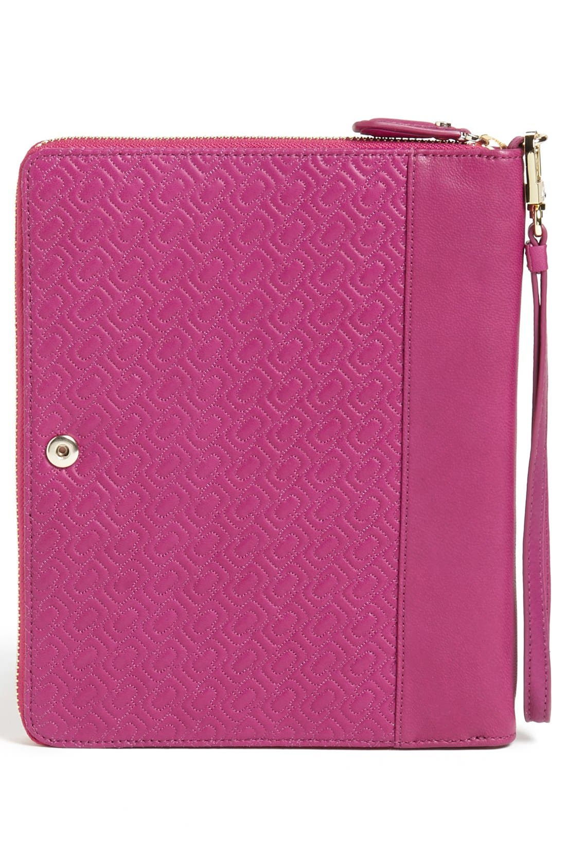 Alternate Image 4  - Diane von Furstenberg 'Chain Link' Quilted iPad Mini Case